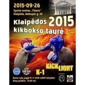 Klaipėdos kikbokso taurė 2015